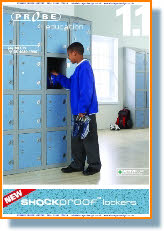Lockers for Education & School use. Lease from 4p per day.